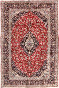 Kashan Covor 294X420 Orientale Lucrat Manual Roșu-Închis/Maro Închis Mare (Lână, Persia/Iran)