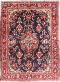 Hamadan Shahrbaf Covor 215X292 Orientale Lucrat Manual Ruginiu/Gri Închis (Lână, Persia/Iran)