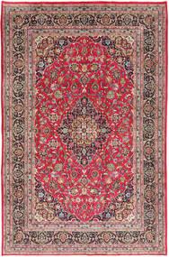 Kashmar Covor 197X300 Orientale Lucrat Manual Ruginiu/Gri Deschis (Lână, Persia/Iran)