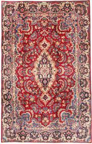 Yazd Covor 200X305 Orientale Lucrat Manual Roşu/Ruginiu (Lână, Persia/Iran)