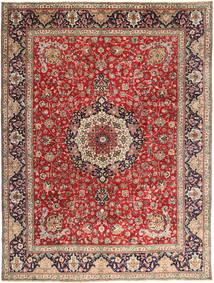 Tabriz Covor 292X393 Orientale Lucrat Manual Roșu-Închis/Ruginiu Mare (Lână, Persia/Iran)