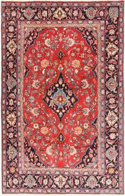Kashan Covor 193X310 Orientale Lucrat Manual Maro/Mov Închis (Lână, Persia/Iran)