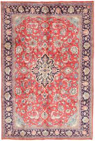 Arak Covor 205X313 Orientale Lucrat Manual Gri Deschis/Roz Deschis (Lână, Persia/Iran)