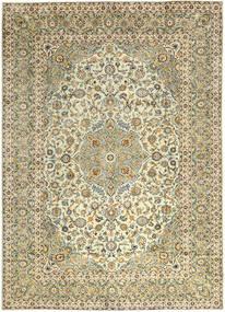 Kashan Covor 290X397 Orientale Lucrat Manual Bej Închis/Maro Deschis Mare (Lână, Persia/Iran)