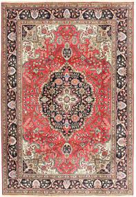 Tabriz Covor 200X287 Orientale Lucrat Manual Roșu-Închis/Maro (Lână, Persia/Iran)
