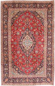 Kashan Covor 198X303 Orientale Lucrat Manual Ruginiu/Roșu-Închis (Lână, Persia/Iran)
