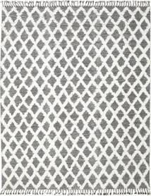 Inez - Maro Închis/White Covor 250X350 Modern Lucrate De Mână Gri Deschis/Gri Închis Mare (Lână, India)