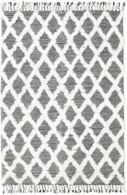 Inez - Maro Închis/White Covor 160X230 Modern Lucrate De Mână Bej/Gri Deschis (Lână, India)