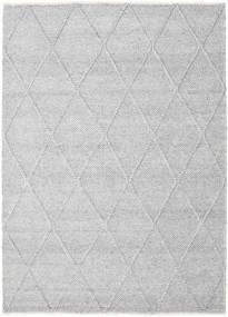 Svea - Silver Grey Covor 160X230 Modern Lucrate De Mână Gri Deschis/Bej-Crem (Lână, India)