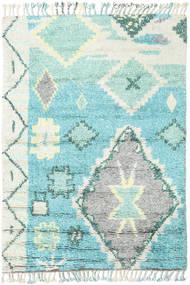 Odda - Turquoise Covor 160X230 Modern Lucrat Manual Gri Deschis/Albastru Turcoaz (Lână, India)