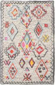 Fatima - Multi Covor 160X230 Modern Lucrate De Mână Gri Deschis/Bej (Lână, India)