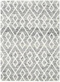 Hudson - Melange Negru Covor 170X240 Modern Gri Deschis/Bej (Lână, India)