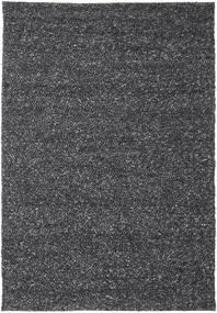 Bubbles - Melange Negru Covor 300X400 Modern Gri Închis Mare (Lână, India)