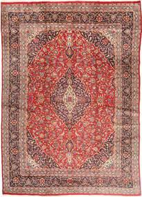 Mashhad Covor 285X405 Orientale Lucrat Manual Roșu-Închis/Bej Mare (Lână, Persia/Iran)