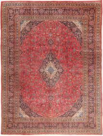 Mashhad Covor 295X390 Orientale Lucrat Manual Roșu-Închis/Maro Deschis Mare (Lână, Persia/Iran)