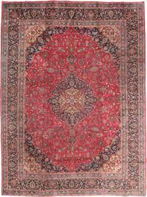 Mashhad Covor 295X395 Orientale Lucrat Manual Roșu-Închis/Maro Mare (Lână, Persia/Iran)