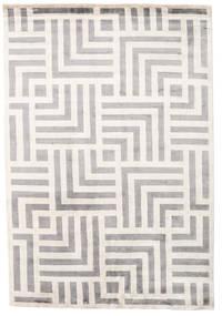 Maze Covor 170X240 Modern Lucrat Manual Gri Deschis/Bej ( India)