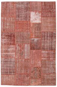 Patchwork Covor 198X301 Modern Lucrat Manual Maro/Roșu-Închis (Lână, Turcia)