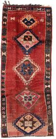 Herki Vintage Covor 153X390 Orientale Lucrat Manual Roșu-Închis/Maro Închis/Ruginiu (Lână, Turcia)