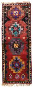 Herki Vintage Covor 135X373 Orientale Lucrat Manual Roșu-Închis/Negru (Lână, Turcia)