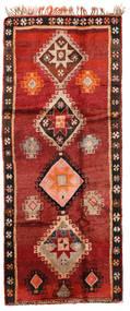 Herki Vintage Covor 166X403 Orientale Lucrat Manual Roșu-Închis/Ruginiu/Maro Închis (Lână, Turcia)