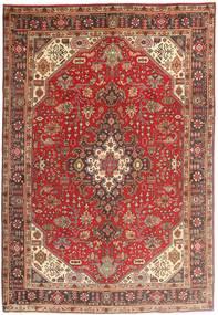 Tabriz Covor 200X294 Orientale Lucrat Manual Roșu-Închis/Maro (Lână, Persia/Iran)