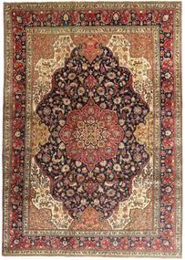 Tabriz Covor 247X345 Orientale Lucrat Manual Maro Închis/Maro Deschis (Lână, Persia/Iran)