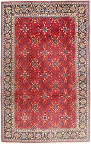 Najafabad Covor 197X307 Orientale Lucrat Manual Ruginiu/Maro Închis (Lână, Persia/Iran)