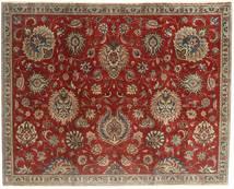 Tabriz Patina Covor 183X230 Orientale Lucrat Manual Roșu-Închis/Maro Deschis (Lână, Persia/Iran)