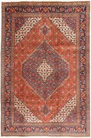 Tabriz Covor 202X305 Orientale Lucrat Manual Roșu-Închis/Maro Închis (Lână, Persia/Iran)