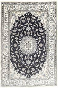 Nain Covor 194X287 Orientale Lucrat Manual Gri Deschis/Gri Închis (Lână, Persia/Iran)