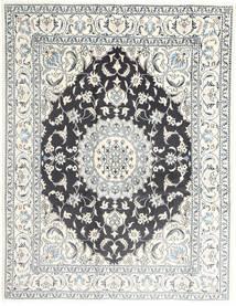 Nain Covor 195X251 Orientale Lucrat Manual Gri Deschis/Bej/Gri Închis (Lână, Persia/Iran)