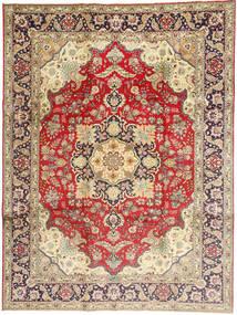 Tabriz Covor 245X340 Orientale Lucrat Manual Roșu-Închis/Bej Închis (Lână, Persia/Iran)