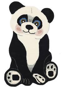 Panda Baby Covor 100X160 Modern Gri Închis/Bej (Lână, India)