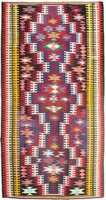 Chilim Covor 180X352 Orientale Lucrate De Mână Roşu/Maro Închis (Lână, Persia/Iran)
