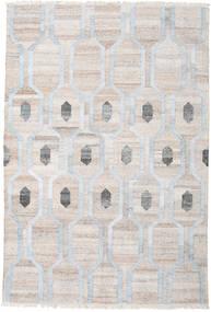 Cosmou - Deschis Albastru Covor 200X300 Modern Lucrate De Mână Gri Deschis/Bej-Crem ( India)