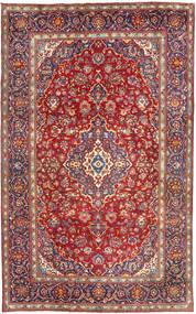 Yazd Covor 198X315 Orientale Lucrat Manual Roșu-Închis (Lână, Persia/Iran)