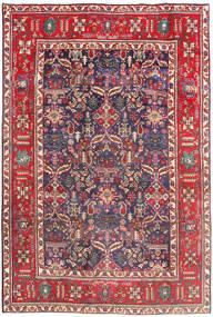 Tabriz Covor 194X290 Orientale Lucrat Manual Roșu-Închis/Bej (Lână, Persia/Iran)
