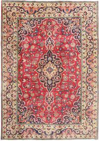 Tabriz Covor 197X288 Orientale Lucrat Manual Bej/Gri Închis (Lână, Persia/Iran)