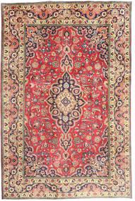 Tabriz Covor 194X290 Orientale Lucrat Manual Ruginiu/Gri Închis (Lână, Persia/Iran)