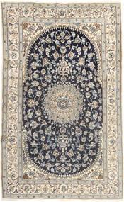 Nain Covor 185X310 Orientale Lucrat Manual Gri Deschis/Gri Închis (Lână, Persia/Iran)