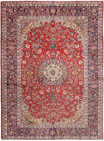 Najafabad Covor 290X395 Orientale Lucrat Manual Roșu-Închis/Roşu Închis Mare (Lână, Persia/Iran)