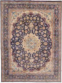 Najafabad Covor 295X398 Orientale Lucrat Manual Gri Deschis/Mov Închis Mare (Lână, Persia/Iran)