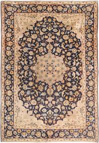 Najafabad Covor 255X365 Orientale Lucrat Manual Gri Închis/Maro Mare (Lână, Persia/Iran)