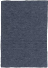 Chilim Loom - Denim Albastru Covor 140X200 Modern Lucrate De Mână Albastru (Lână, India)