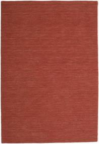 Chilim Loom - Ruginiu Covor 200X300 Modern Lucrate De Mână Roșu-Închis (Lână, India)