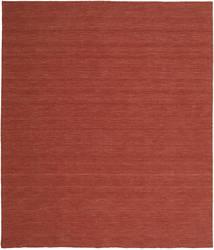 Chilim Loom - Ruginiu Covor 250X300 Modern Lucrate De Mână Roșu-Închis Mare (Lână, India)