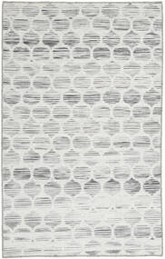 Jakart Chilim Covor 75X122 Modern Lucrate De Mână Gri Deschis/Bej (Lână, India)