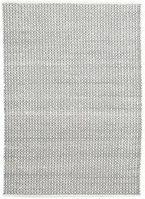 Alva - White/Negru Covor 160X230 Modern Lucrate De Mână Gri Deschis/Gri Închis (Lână, India)