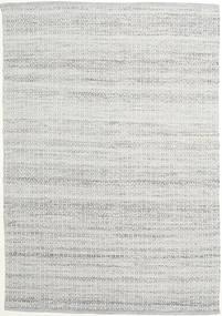Alva - Gri/White Covor 160X230 Modern Lucrate De Mână Gri Deschis (Lână, India)
